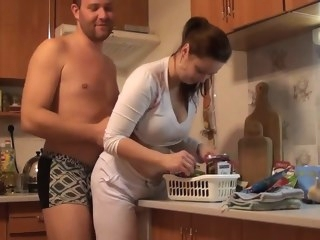 amateur big tits busty czech amateur fucking around the house by eliman