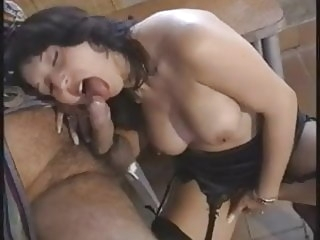 old & young italian Pretty Italian woman rear fucked by older man