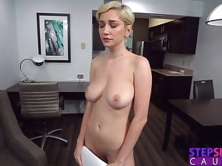 blonde blowjob Three Pumps But That's It! - Step Sis Practicing Sex Scene