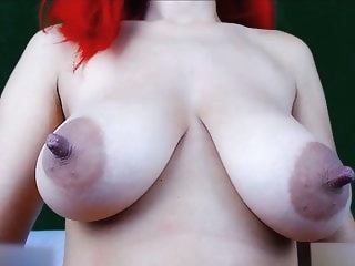 webcam anal Girl play with her big juicy boobs (Part2 - 6H show)
