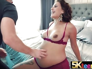 blowjob hardcore 5KTEENS Pregnant 18 Year Old Still Wants Cum