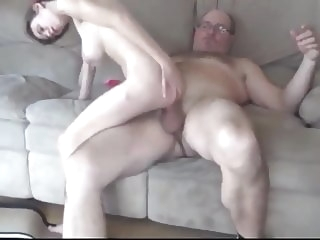 blowjob cumshot Daddy with MONSTER COCK